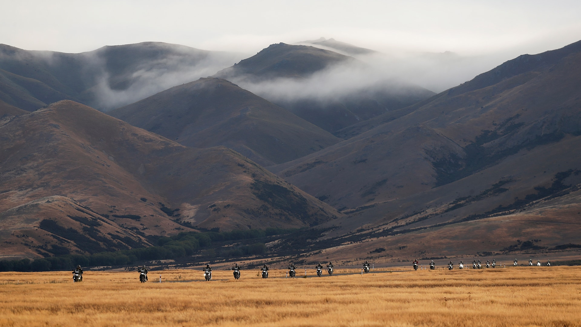 We see a video of the last International GS Trophy 2020 in New Zealand.